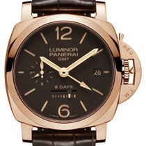 パネライ (Panerai) Luminor 1950 8 Days GMT Oro Rosso PAM00576