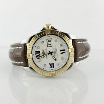 Breitling Two Tone Cockpit With Diamond Markers C49350 On...