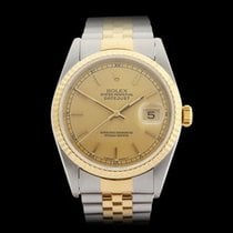 Rolex Datejust Stainless Steel/18k Yellow Gold Unisex 16233