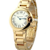 Cartier W69002Z2 Ballon Bleu - Small Size - Rose Gold on Bracelet