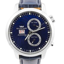 Glycine Airman 7 GMT Grand Date