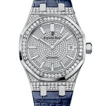 Audemars Piguet Royal Oak Lady 18K Solid White Gold Automatic...