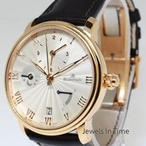 Blancpain Villeret Half Timezone18K Rose Gold auto Box/Papers...