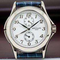 Patek Philippe 5134G-001 5134G Travel Time 18K White Gold /...