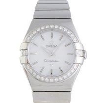 Omega Constellation Quartz 24mm Watch 123.15.24.60.05.002