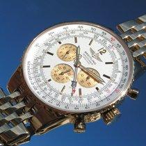 Breitling Navitimer Heritage K35340 Gelbgold 750 18k Und...