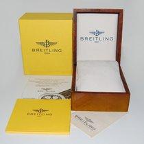 Breitling Holz Box mit Umkarton und Zubehör