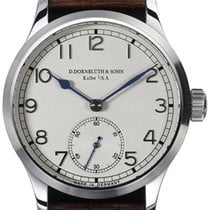 D.Dornblüth & Sohn 99.1 Silver Dial Applied Indices
