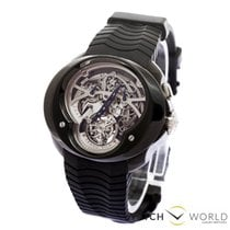 Franc Vila Single Button Chronograph Squelette Tourbillon PVD