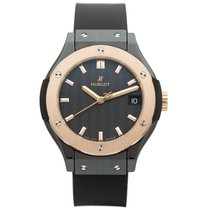 Hublot Classic Fusion Ceramic King Gold Quartz 33 mm