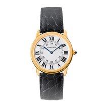 Cartier Ronde Quartz Mens Watch Ref W6700455