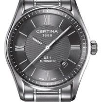 Certina DS 1-romain dial Farbe Grau