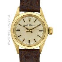 ロレックス (Rolex) 14k yellow gold lady Oyster Perpetual