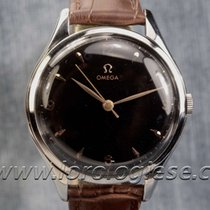 Omega Vintage 1952 Ref. 2506 Xl 38,5mm Black Dial Watch Cal....