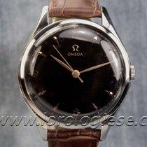 Omega Vintage 1952 Ref. 2506 Xl 38,5mm Black Dial Watch Cal....