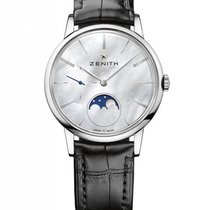 Zenith Elite Lady Moonphase Stainless Steel Ladies Watch