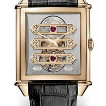 Girard Perregaux VINTAGE 1945 TOURBILLON WITH THREE GOLD...