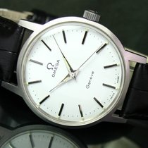 Omega Geneve Cal. 601 Winding Vintage Steel Mens Watch