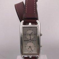 Hermès cape code dual time zone ref Référence CC3-210 quartz BOX