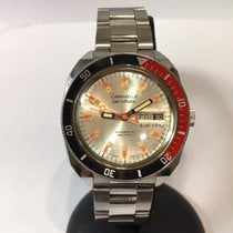 38mm Caravelle Set-o-matic Dual-day Automatic Stainless Steel...