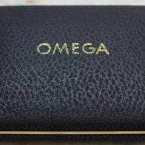 Omega rare vintage watch box black inner green  for man's ...