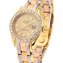 Rolex Used 80298 Tri Tridor Ladys Masterpiece 80298 - 32...