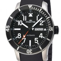 Fortis B-42 Official Cosmonauts Diver Day Date Titanium...