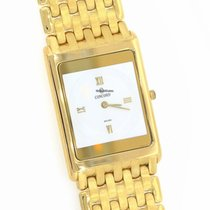 Concord 18k Yellow Gold 24mm Smooth Bezel Watch 50.20.617DM 128g