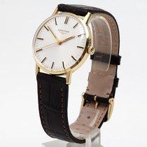 Longines 750/18kt Gelbgold Herrenuhr von 1973 - Kaliber 6942 -...