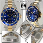 Rolex Submariner-Acc-oro