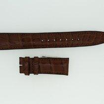 IWC Lederband / Alligator / Braun 20/18mm 135/55mm