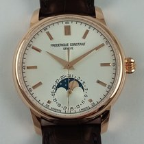Frederique Constant Classic Manufacture Moonphase plated rose...
