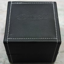 Ingersoll vintage watch box black  leather with warranty