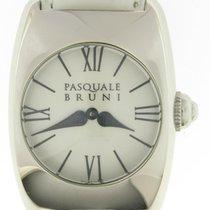 PASQUALE BRUNI S' Steel Quartz Watch White Dial &...