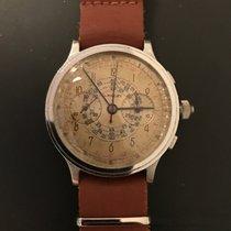 Lancet Landeron Oversized 1930's Chronograph