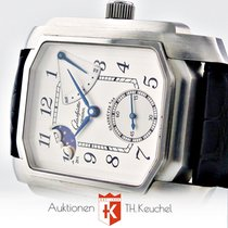 Glashütte Original Senator Karree Auf Ab Full Set Mondphase...