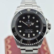 Rolex Sea Dweller Deepsea 116660 Black     Stainless Steel ...