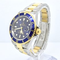 Rolex Submariner Date Box and Papers  Gold Clasp/SEL/No...