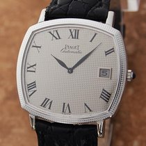 Piaget 18k White Gold Automatic Swiss Made 32.5mm Men's c...