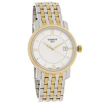 Tissot Bridgeport Mens Two Tone Swiss Quartz Watch T097.410.22...