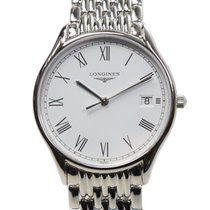 Longines Lyre Stainless Steel White Quartz L4.759.4.11.6