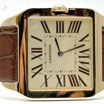 Cartier Santos Dumont 18kt Yellow Gold Men's Watch...