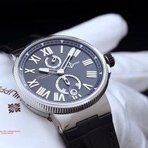 Ulysse Nardin Marine Chronometer 45MM Black 1183-122 Automatic...