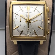 TAG Heuer Monaco Automatic Chronograph 18k gold