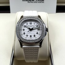 Patek Philippe 5067A Ladies Aquanaut Pearl White Dial 2016...