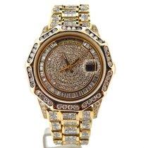 Rolex 18k Gold Day-date President 35ct Full Diamond 18238