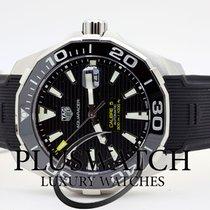 TAG Heuer Aquaracer 300M Calibre 5 Ceramic Bezel Black Dial...