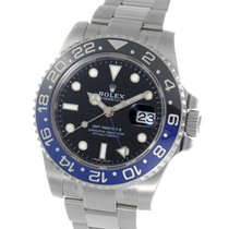 ロレックス (Rolex) GMT Master II Ceramic Batman Bezel Steel 40MM...