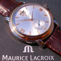 Maurice Lacroix Masterpiece Grand Guichet Großdatum; Stahl/18K...