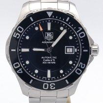 TAG Heuer Aqua Racer Black Dial Automatic  Wan2110.ba0822...
